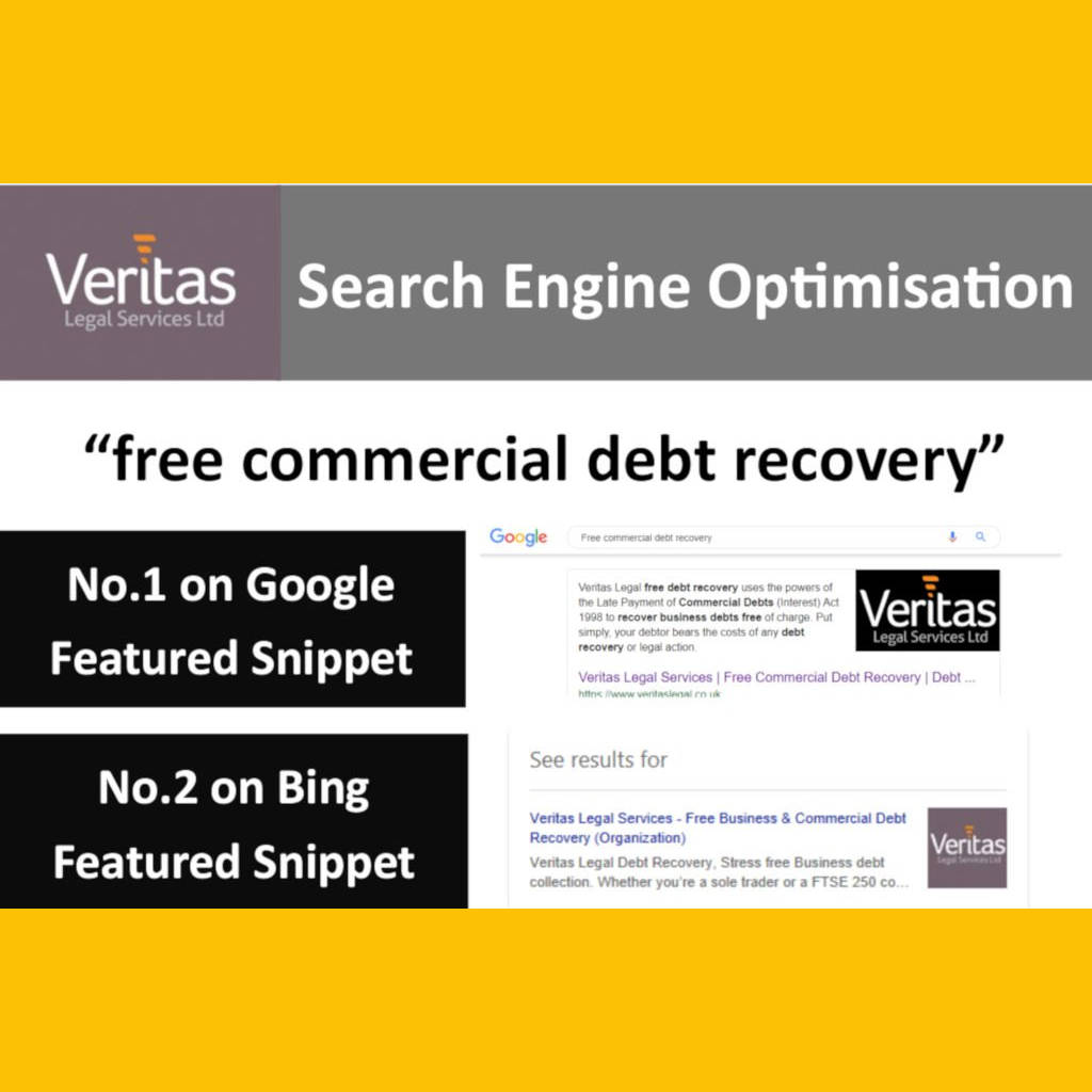 Search Engine Optimisation Successful for Exeter & Torbay Debt Recovery Company