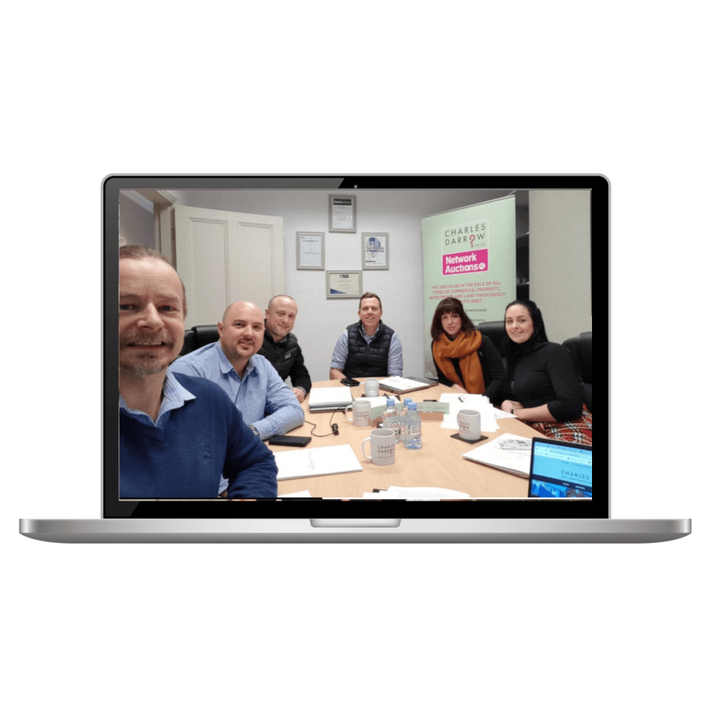 Newton Abbot Social Media Training for Charles Darrow Business & Commercial Property Agents
