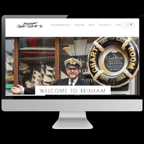 devon marine collectables woocommerce website